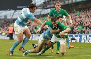 Ireland v Argentina