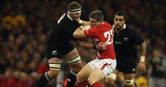 Kieran Read and Scott Williams