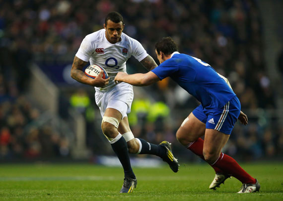 Courtney Lawes England