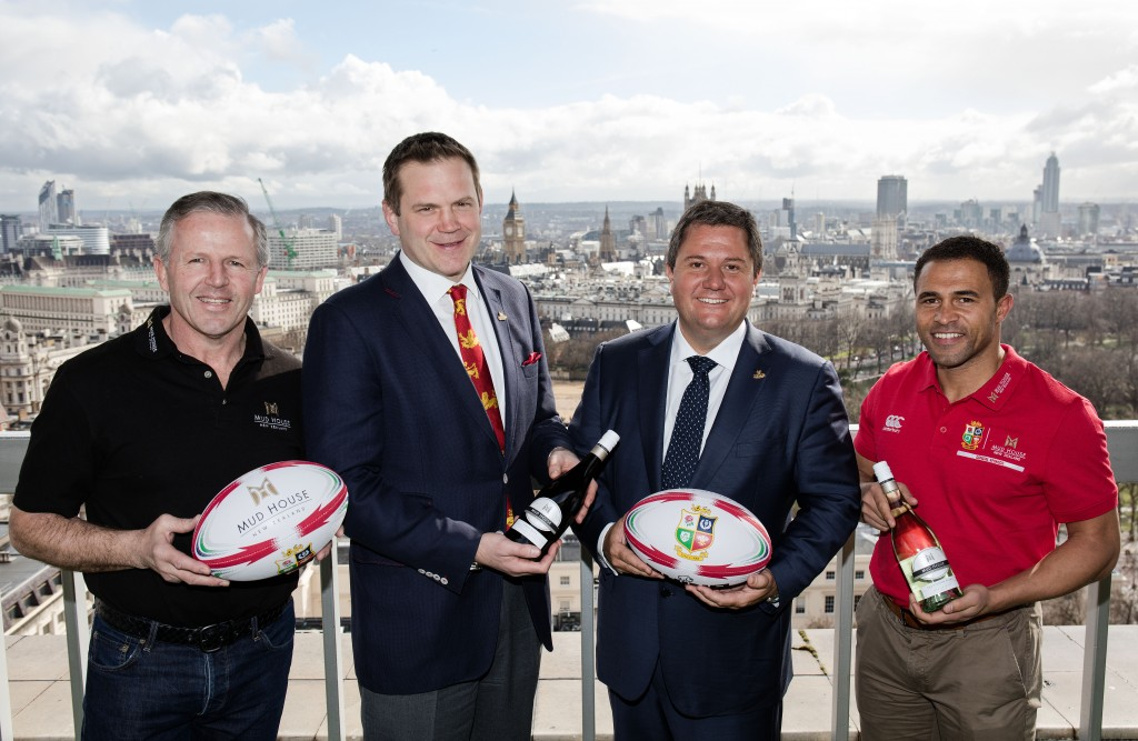 Mud House Official Sponsor of British Lions