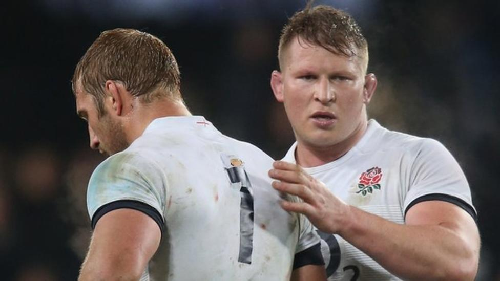 Dylan Hartley England