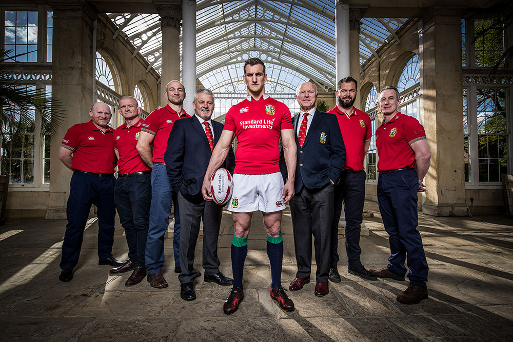 2017 Lions Captain Sam Warburton